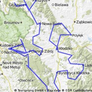 moja trasa rowerowa 2011 wakacje A.F.