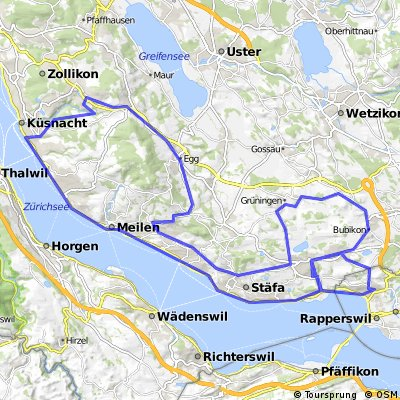 Wolfhausen - Egg - Küsnacht - Wolfhausen