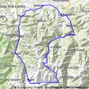Bertren, Port de Bales, Col de Peyresourde loop