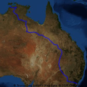 Darwin to Sydney CLONED FROM ROUTE 721694