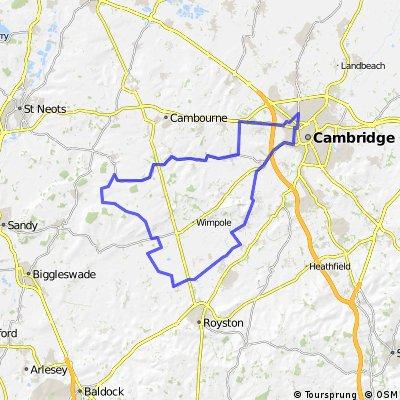 Cambridge, Hatley, Bassingbourn, Cambridge