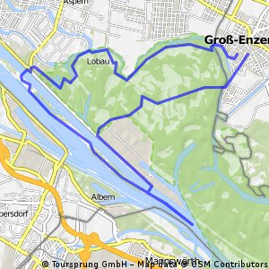 Lobau-Donauinsel-Lobau