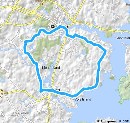 Durham Point Road LOOP CLONED FROM ROUTE 568484