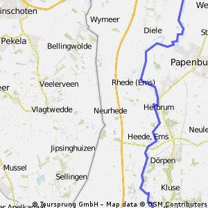 N-NL dag 8 Lathen 68km