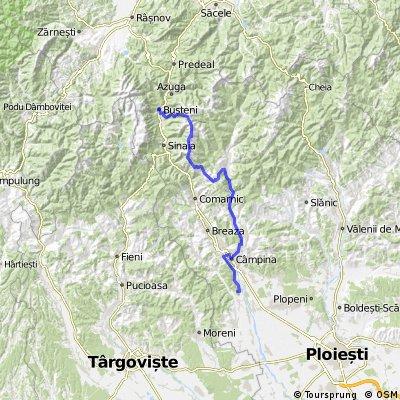 Busteni - Baiului - Valea Doftanei - Campina - Gratar si Campare ziua 1