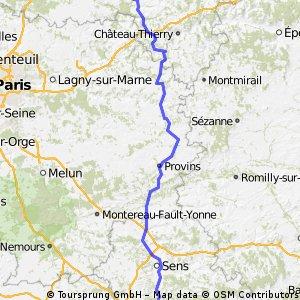 etapa5 Villers Cotterets-Joigny
