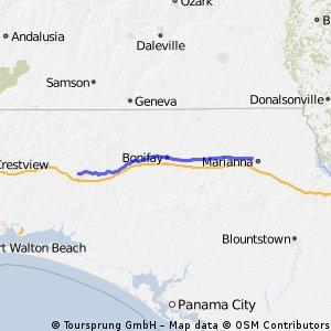 Marianna FL - DeFuniak Springs FL