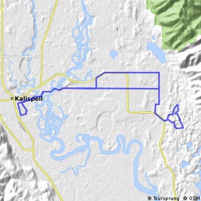 Holt Stage - Many Lakes - Lake Blaine