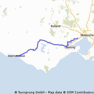 Melbourne to Warrnambool