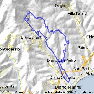 Urlaubsrunde Diano Arentino