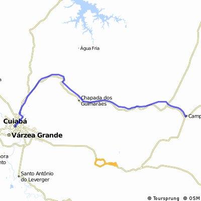 CampoVerde - Cuiaba par Chapada