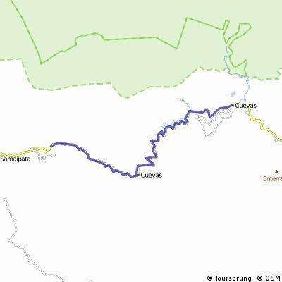 Cuevas - avant Samaipata