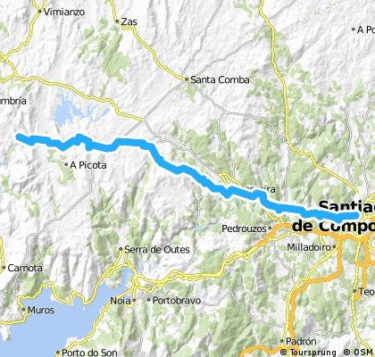 camino santiago e02 Santiago -> Fisterra