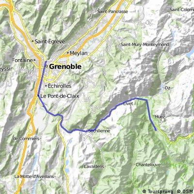 Grenoble - Bourg d'Oisans