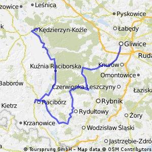 KK - Gliwice przez Pszów i Stodoły