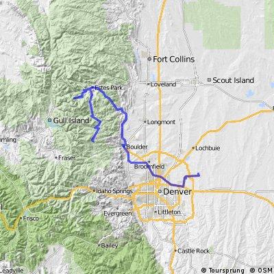 Colorado 6 - Ward - RMNP - Boulder - DIA