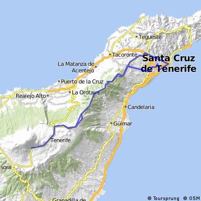 Santa Cruz-Teide-und zurück