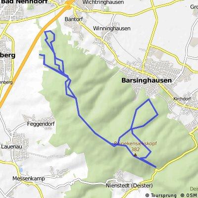 Deister Rundtour mit Mittelschweren Trails