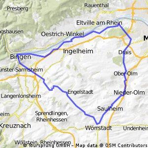 74 km Tour