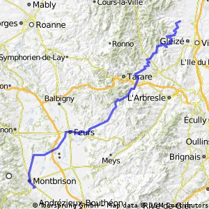 AlBienne 2011 Stage 6 Blaceret - Montbrison