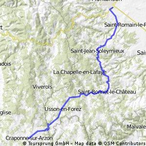 AlBienne 2011 Stage 7 Montbrison - Craponne s/Arzon
