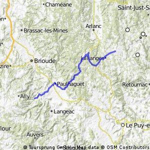 AlBienne 2011 Stage 8 Craponne s/Arzon - Lavoute-Chilhac