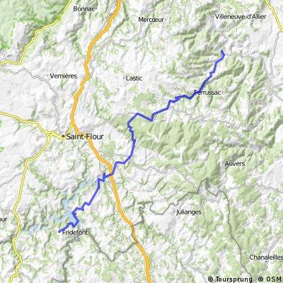 AlBienne 2011 Stage 9 Lavoute-Chilhac - Fridefont