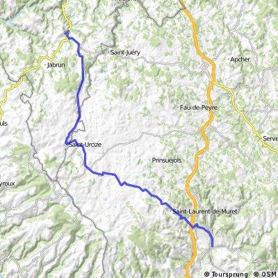AlBienne 2011 Stage 11 Chaudes-Aigues - Marvejols