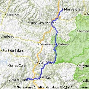 AlBienne 2011 Stage 12 Marvejols - Compregnac