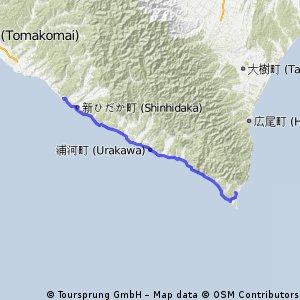 北海道 Day01: 判官館->百人浜 (Erimo)