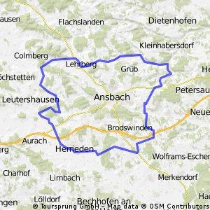 Rund um Ansbach