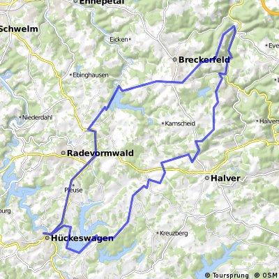 Hückeswagen - Hagen-Rummenohl