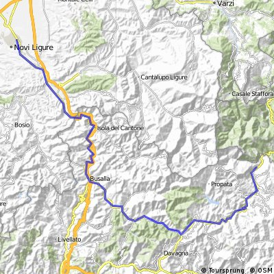 Novi Ligure /Busalla /Montoggio /Ponte