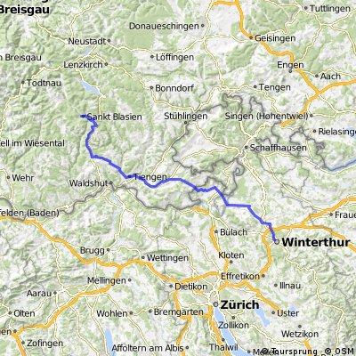 St.Blasien - Winterthur