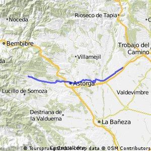5ª Etapa Camino Santiago. Villadangos del Paramo-Rabanal del Camino