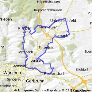 2-Bäche-Radtour ab Rottendorf