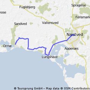 Dänemark: West nach Ost (Tag 8: Bisserup - Næstved)