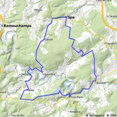 Spa - Trois-Ponts - Stavelot