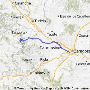 Zaragoza - Santuario Moncayo