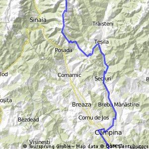 Busteni - Baiului - Valea Doftanei - Campina - Gratar si Campare ziua 1 CLONED FROM ROUTE 1175458