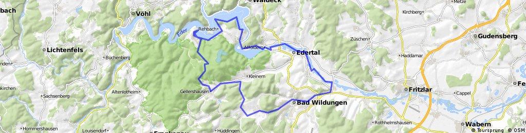 Edersee-Radweg ER 4