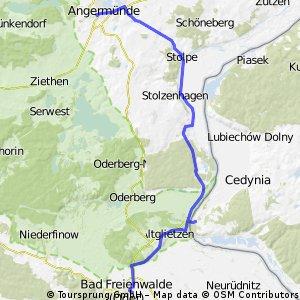 Angermünde - Bad Freienwalde