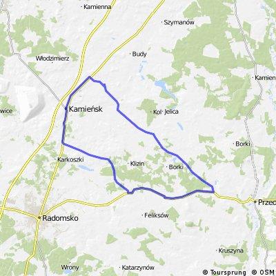 pentla Józefina-Gomunice-Kodrąb-Masłowice-Józefina