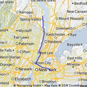 Forest Hills to Nyack