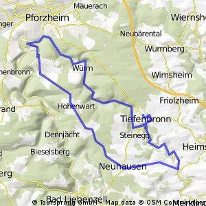 Würmtal Schellbronn Kupferhammer