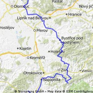 poutni Sv.Kopecek-Hostyn-Provodov-Velehrad