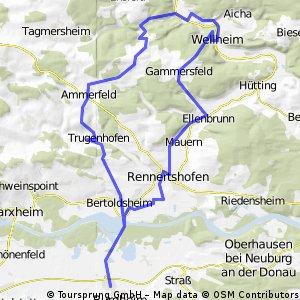 Burgheim - Spindeltal
