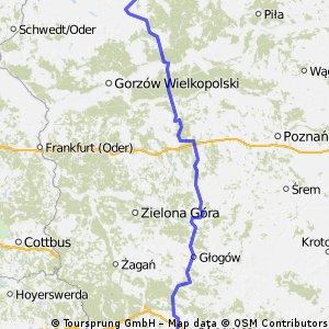 Łobez - Szklarska Poręba