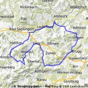 1. August-Tour Mandacherhöhe