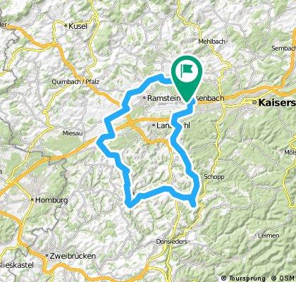 Tour Saalstadt